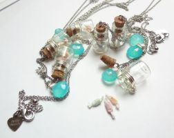 Salt Water Taffy Bottles by WaterGleam
