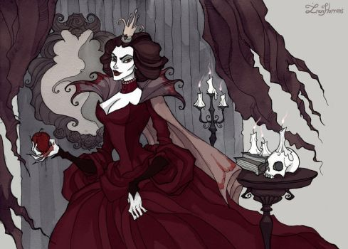 The Evil Queen by IrenHorrors