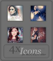 Mandy Moore - Icon Set 18 by only-thi