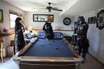 Friendly game of pool by MandalorianKnight