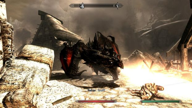 Now THIS is Alduin! by Seth-Ulrik