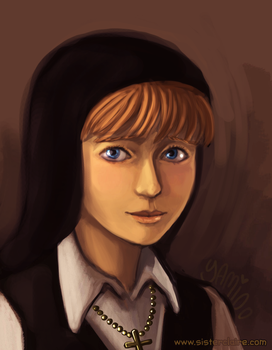 Sister Claire's Portrait by Yamino