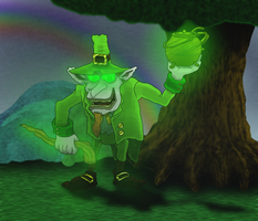 The Evil Leprechaun by devilmanozzy