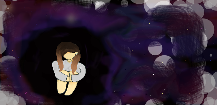 Girl in space+UPDATE by Kawllicrush