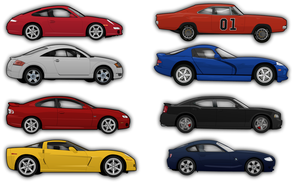 Cars - Top 40 WIP :20 Percent: by madeofglass13