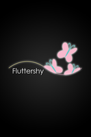 Fluttershy Glow Line iPod/iPhone Wallpaper by AlphaMuppet