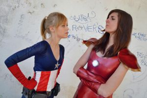 Avengers- Pot, Kettle, Black by InhumanSandwiches