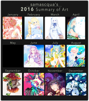 2016 Art Summary by samascqua