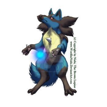 Test: Lucario cartoonisrealism by WoelfinNishi