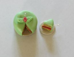 Green Cake Charms by Purpl3Surreal