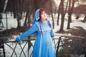 Trinity Blood - Esther by adelhaid