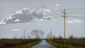 Country Road after Heavy Rain by hank1