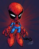Lil Spidey: Red J by Nubry