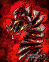 Dragon Bust Magma by TwilightSaint