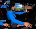 Sayaka Out For A Drive by WilliamRumley