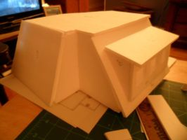 Les Shoppes Dollhouse Project: WIP 3 by kayanah
