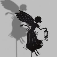 Guardian Angel - Shadow Puppet by PaperTales