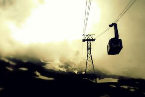 Up to Mount Titlis by qizzeyy