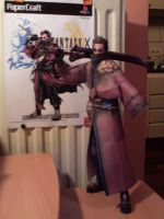 auron papercraft by jokeske