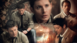 Like A Prayer (Destiel Wallpaper) by mistofstars