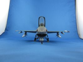 1/48 Scale F-16CJ 'Block 50' (front) by Coffeebean2