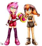 Hammer and boomerang by Cometshina