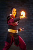 Azula Fire Bending by Foxseye