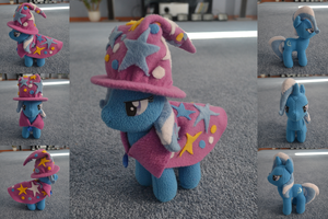 Trixie Plushie by GhostOfWar909
