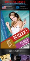 Blox Party Flyer Template by survivorcz