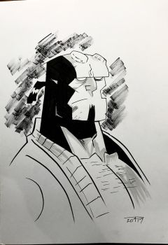 HELLBOY PORTRAIT  by priamonster