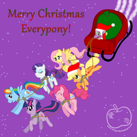 The Ponies that Saved Christmas by Sandy--Apples