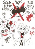 Send In The Clown by Dark--Magician