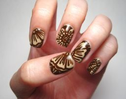 Henna Nails 3.0 by complimentarymints
