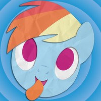 Rainbow Tales Icon: Rainbow Dash by Narflarg