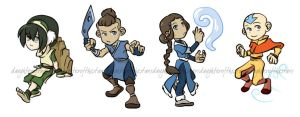 Avatar Stickers by daughterofthestars