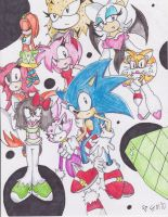 Sonic and co. by Tailsmoluver