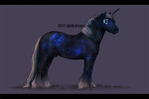 Unicorn Commission for ArcticNightStables by Jullelin