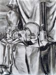 Still Life Greyscale Items by MicheleHansen