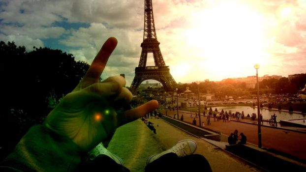 rock on, Paris by 666sel