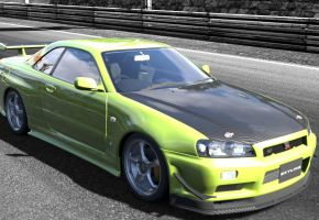 GT5: green comet by Megasxlrfan5