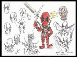My take on Deadpool by devilkais
