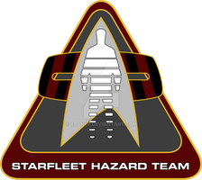 Starfleet Hazard Team Logo - Final Design by cbunye