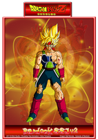 Bardock SSJ V2 by CHangopepe