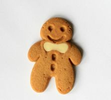 Gingerbread Man by doko-stock