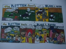 The Rotten Family #5 and 6: April 2011 by BARproductions