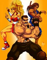 final fight 2 upgrade x by Shayeragal