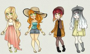Four seasons adopts (closed) by fanybunny