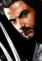 Wolverine_Hugh Jackman_Digital by Ricgar
