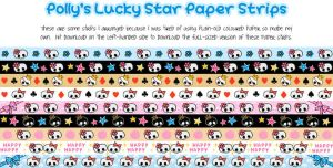 Lucky Star Paper - Skull Love by blackheartqueen