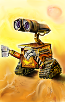wall-e by angieluvsyou